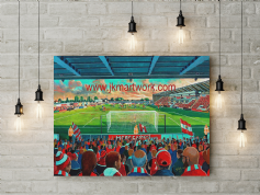 globe arena canvas a2 size